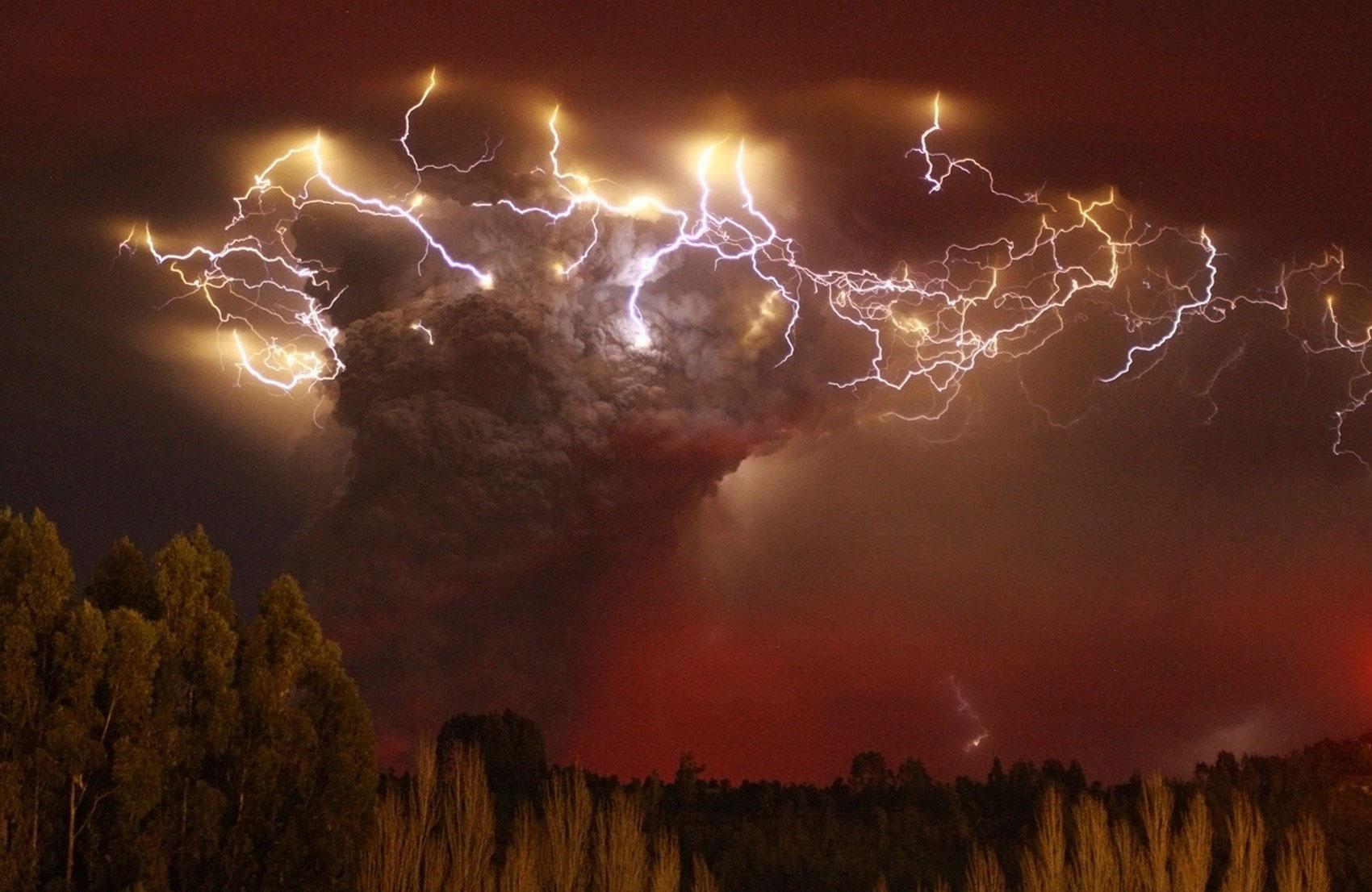 извержение вулкана, фото