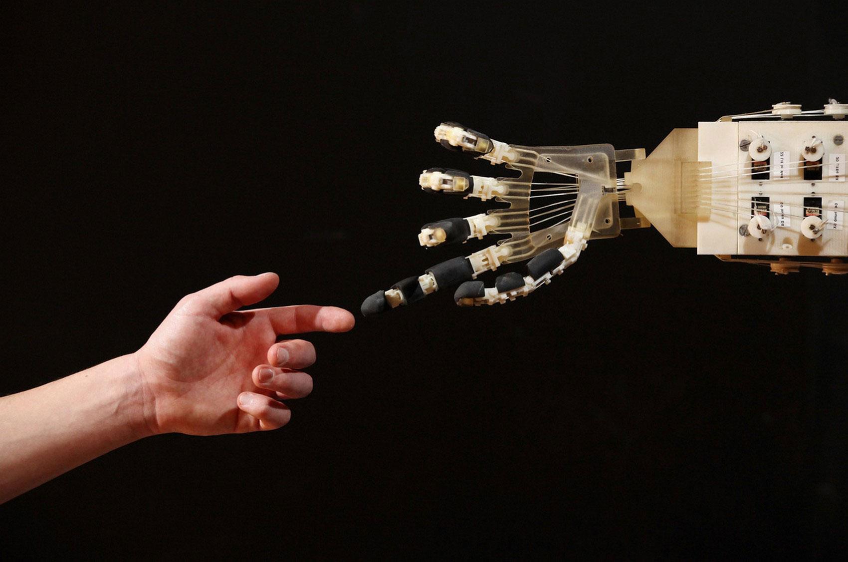 робот в музее