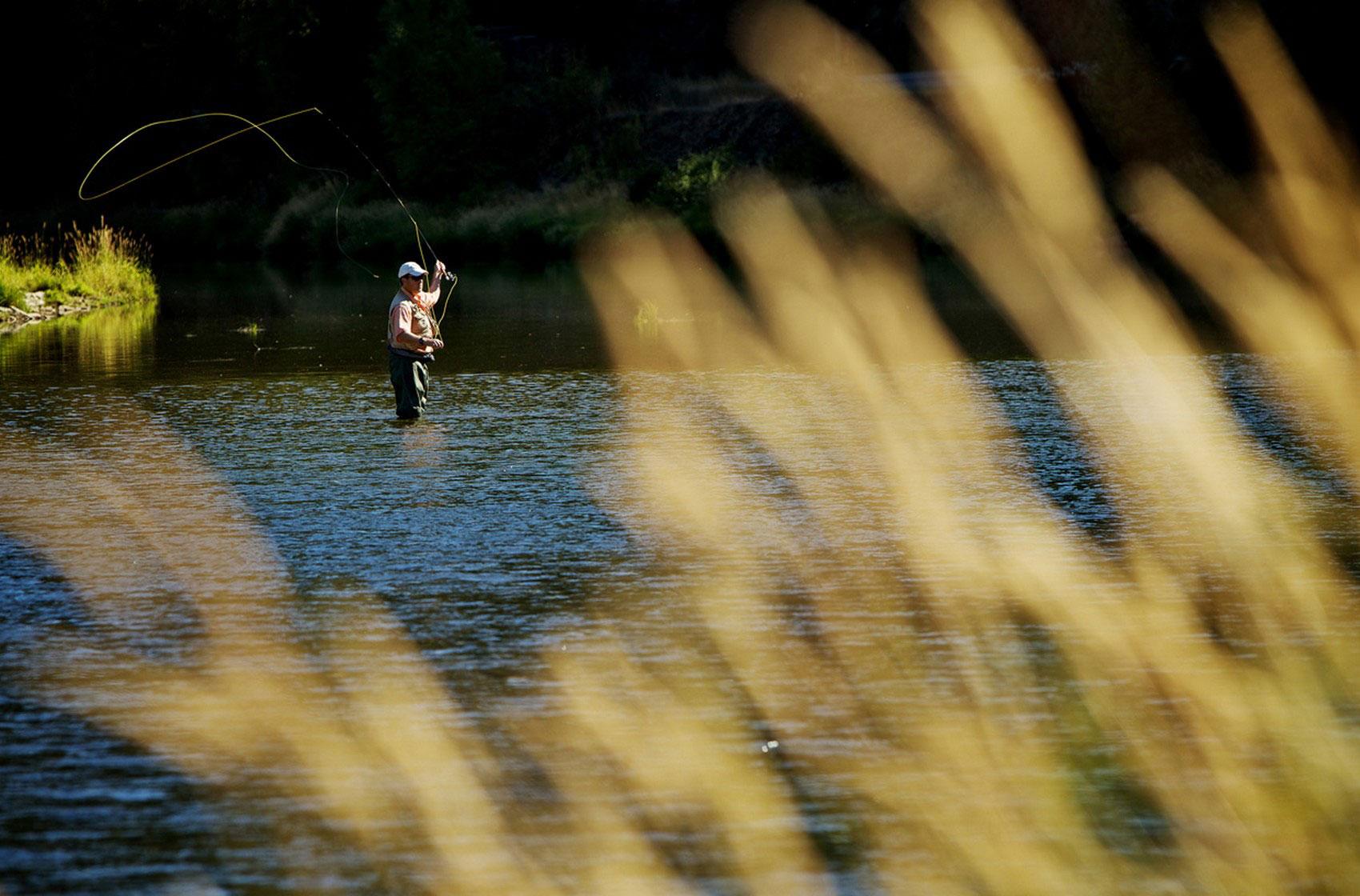 рыбалка в штате Айдахо, фото