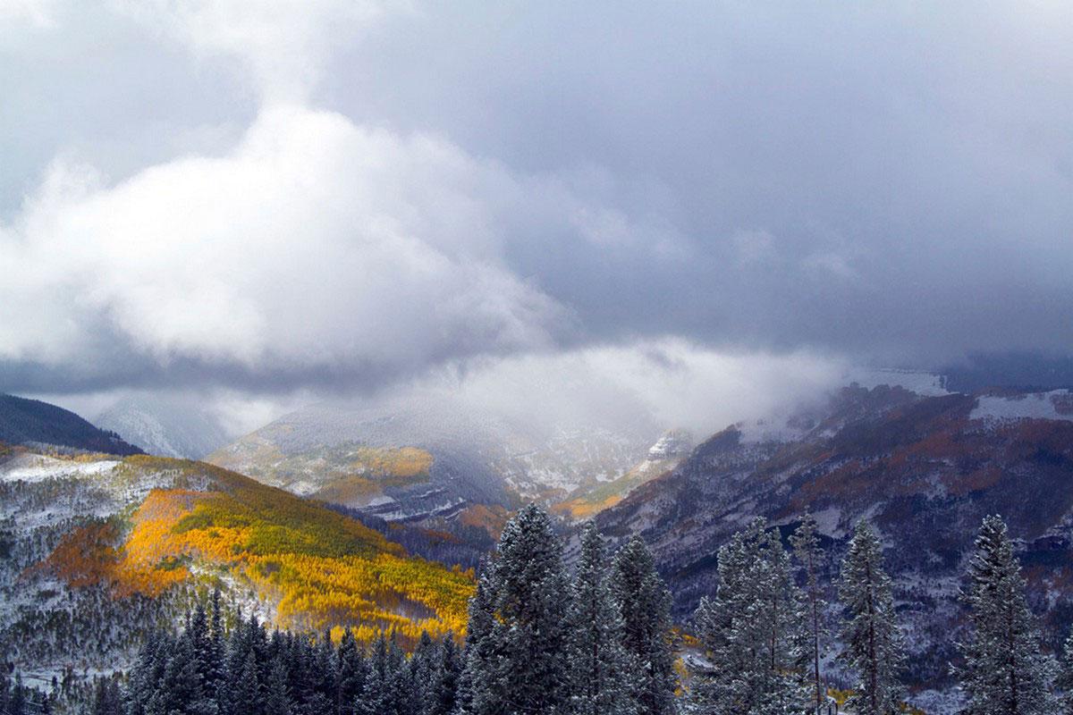 холмы осенью