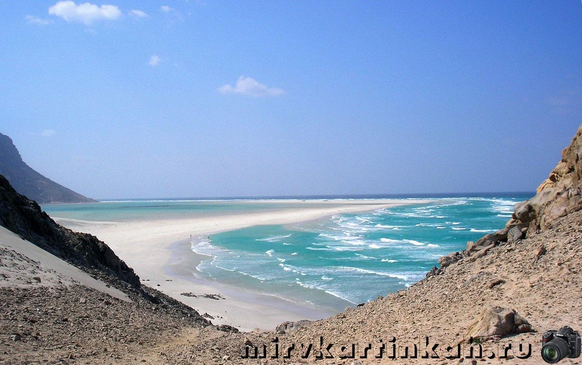 тропа на пляж