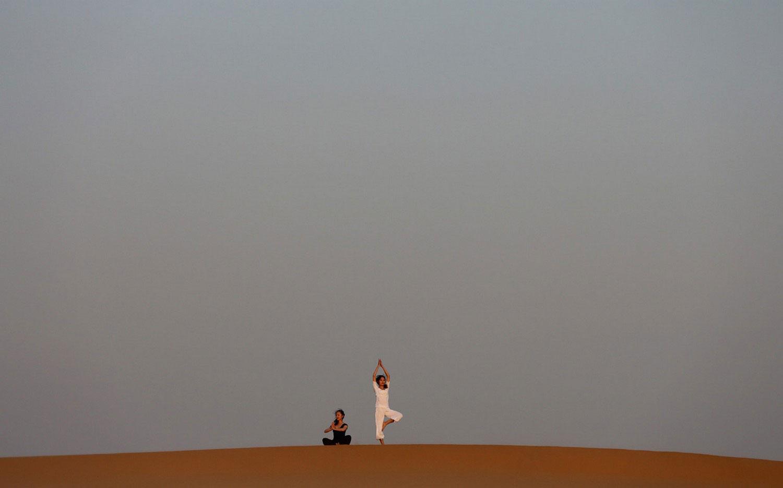 танцы в песках