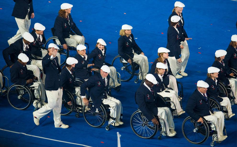 сборная США на паралимпиаде 2008 в Пекине, фото