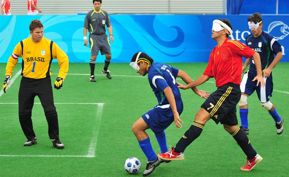 футболисты на паралимпиаде 2008 в Пекине, фото