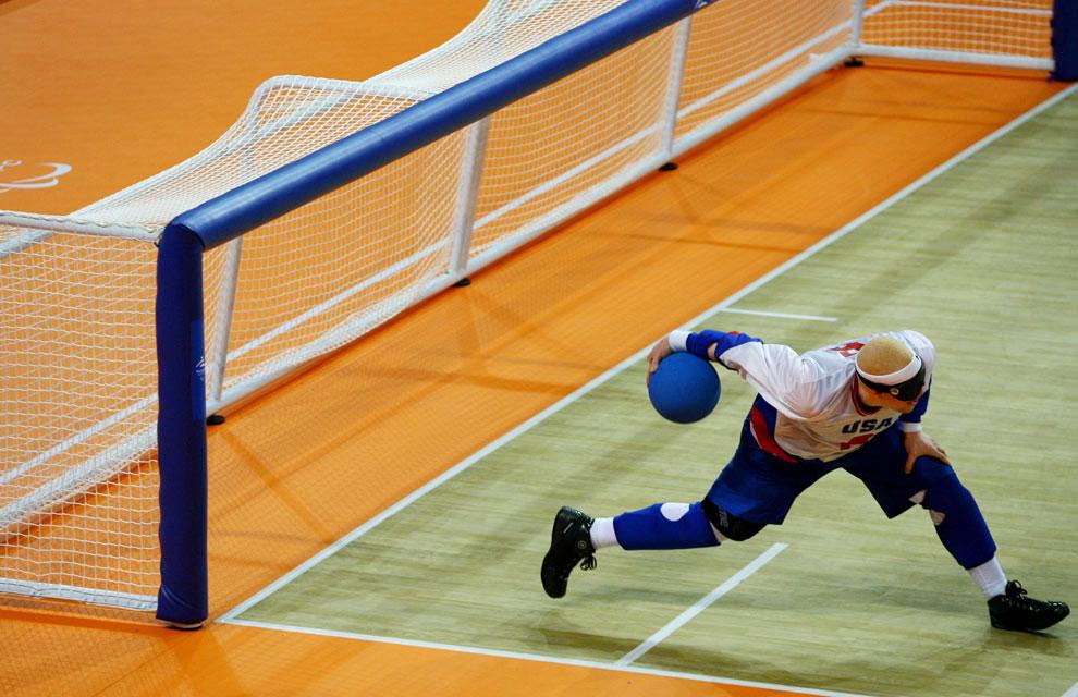 голбол на паралимпиаде 2008 в Пекине, фото