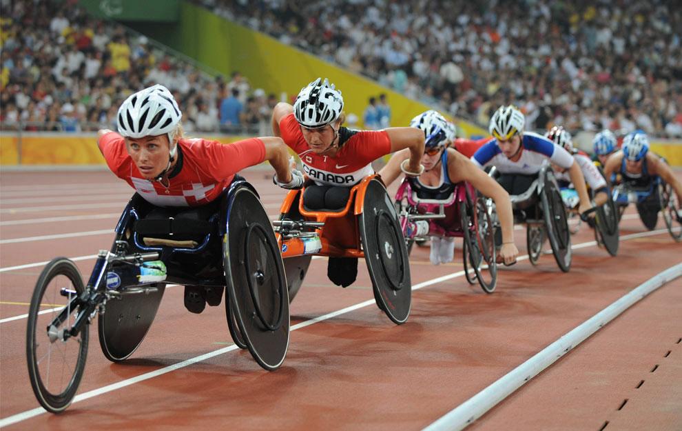 колясочный вид спорта на паралимпиаде 2008 в Пекине, фото