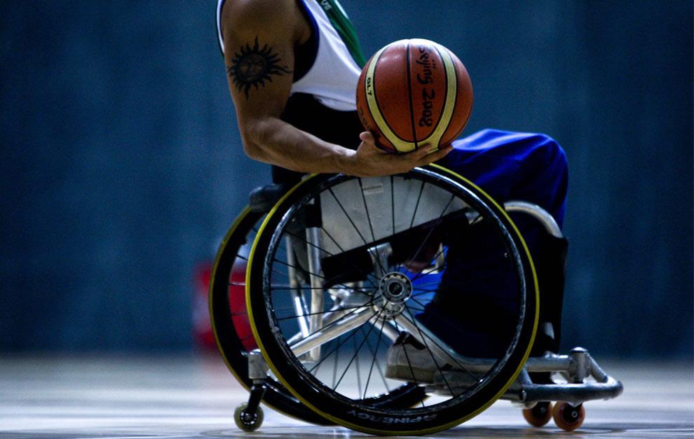 баскетбол на паралимпиаде, фото