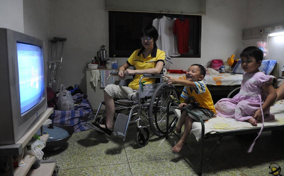 пострадавшие от землетрясения на паралимпиаде, фото