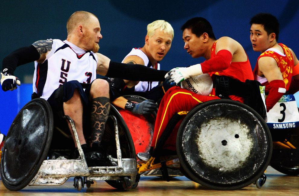 регби на паралимпиаде, фото