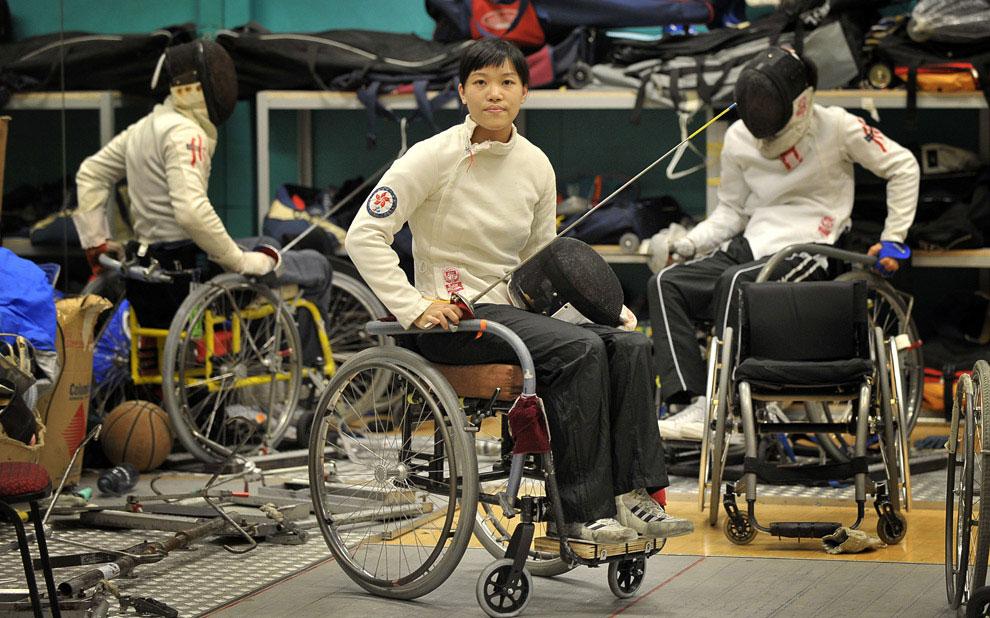 фехтование на паралимпиаде, фото