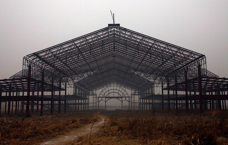 строительство развлекательного парка, фото