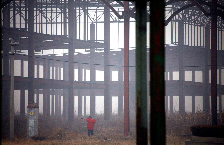 недостроенные сооружения на поле Чудес, фотография