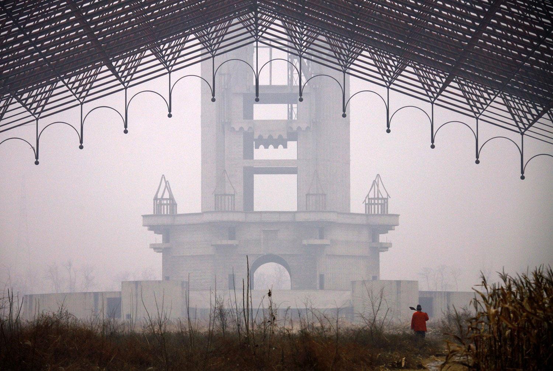 обход китайской территории, фото