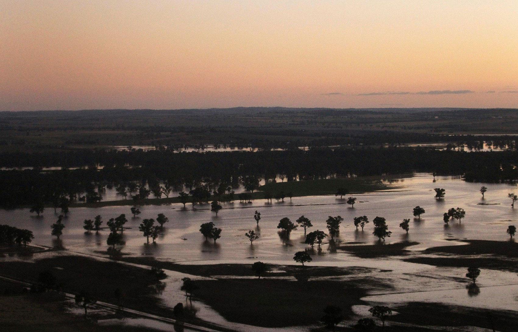 Наводнение в Новом Южном Уэльсе, фото
