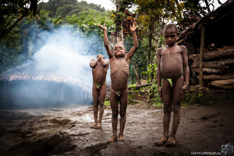 Дети племени