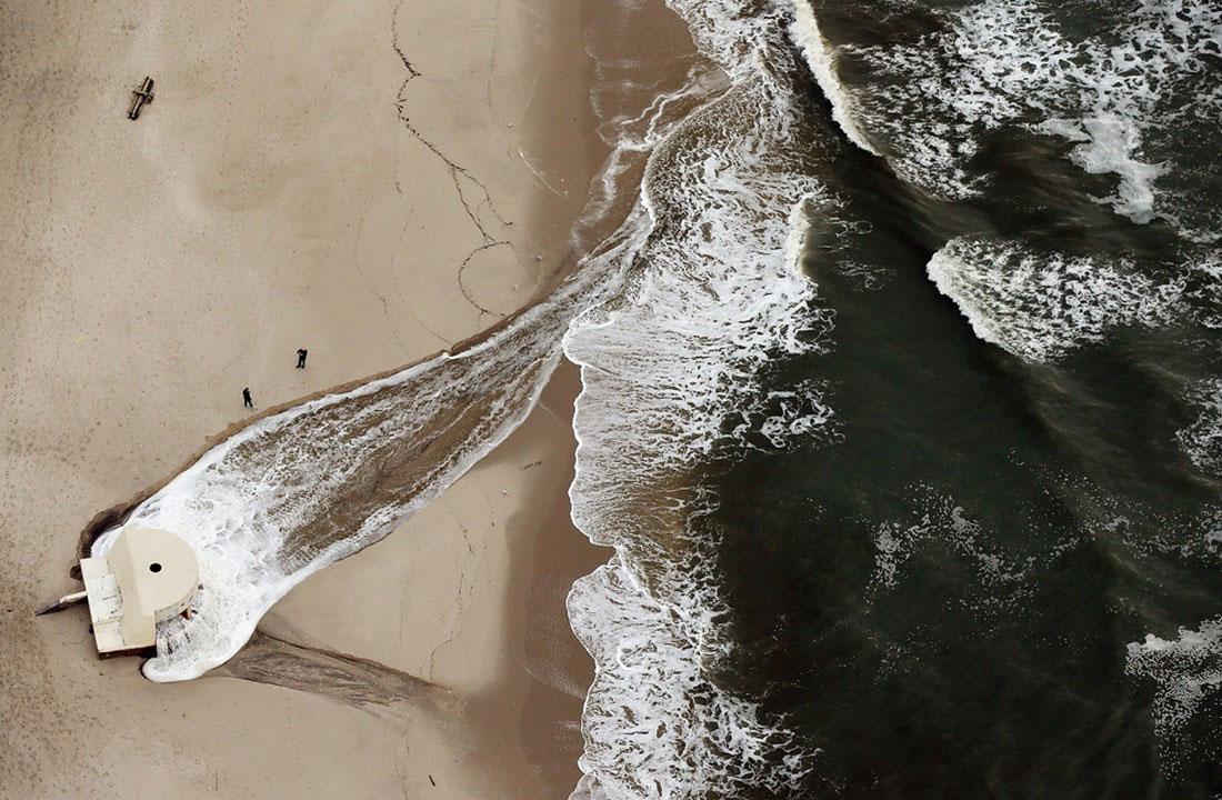 вода на пляже, фото