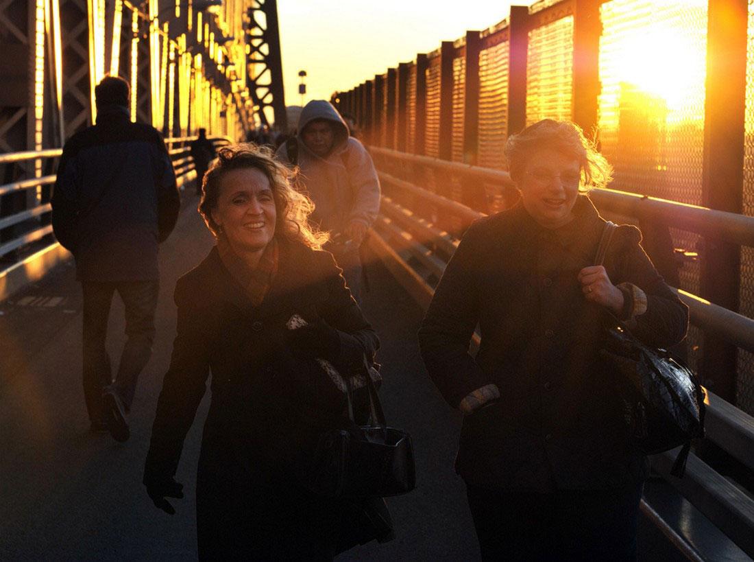 Куинсборо — мост через Ист-Ривер, фото