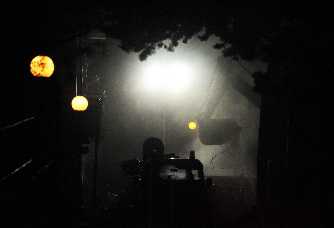 завалы в Аквиле в Италии, фото