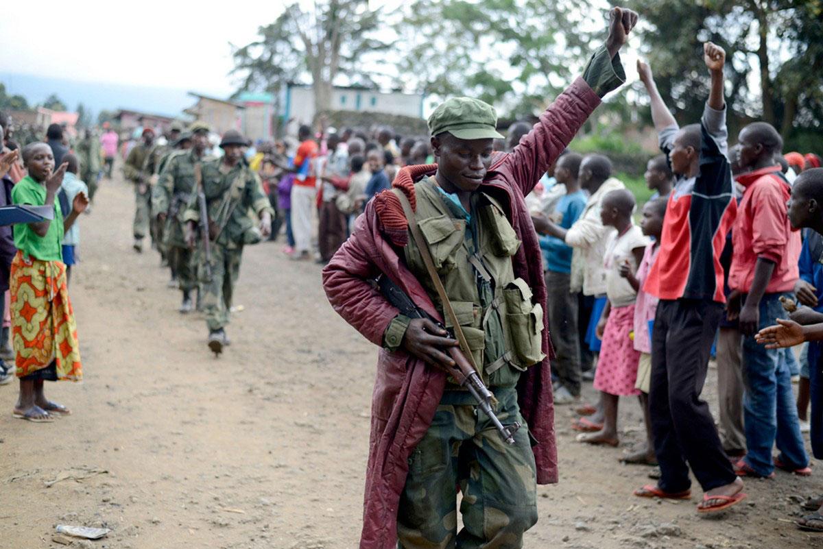 местные жители Конго