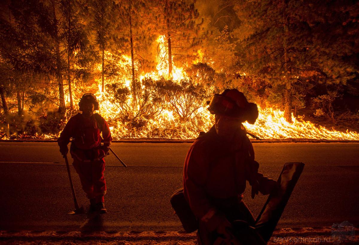 пожары не утихают