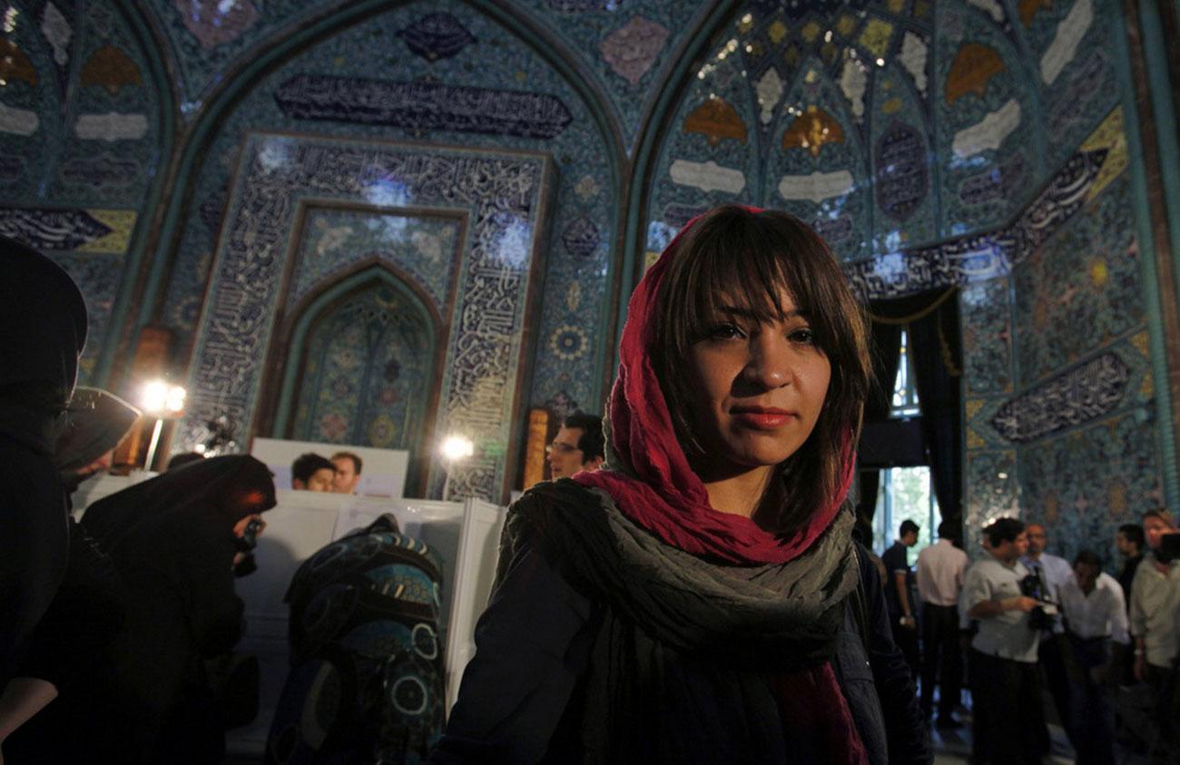 избирательный участок в Тегеране
