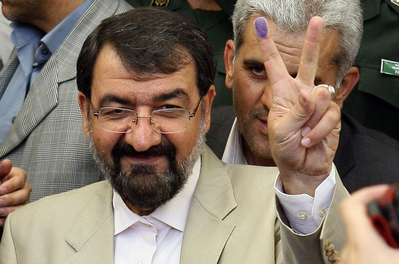 Кандидат в президенты Ирана Мохсен Резаи