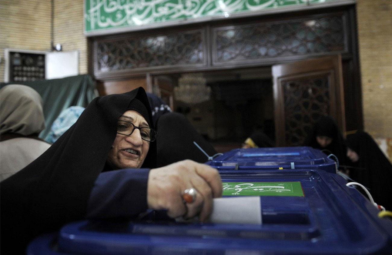бюллетень на выборах президента Ирана