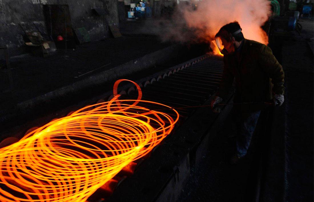 металлургический завод в Чанчжи, фото