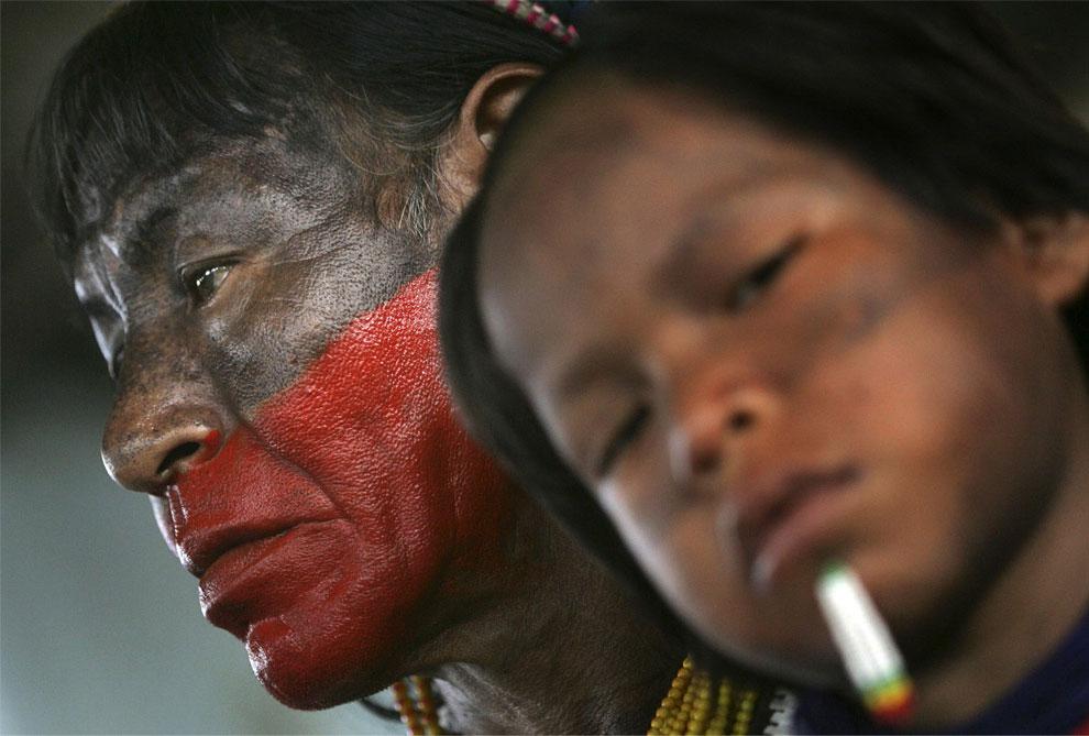 индейцы амазонки в бразилии