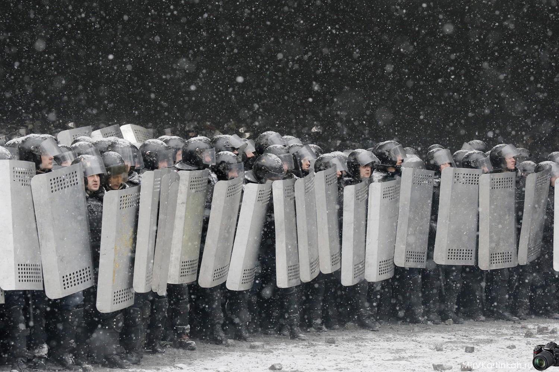 Подготовка к столкновению
