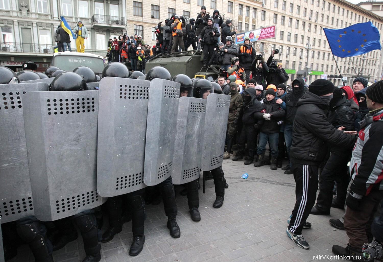 люди против полиции