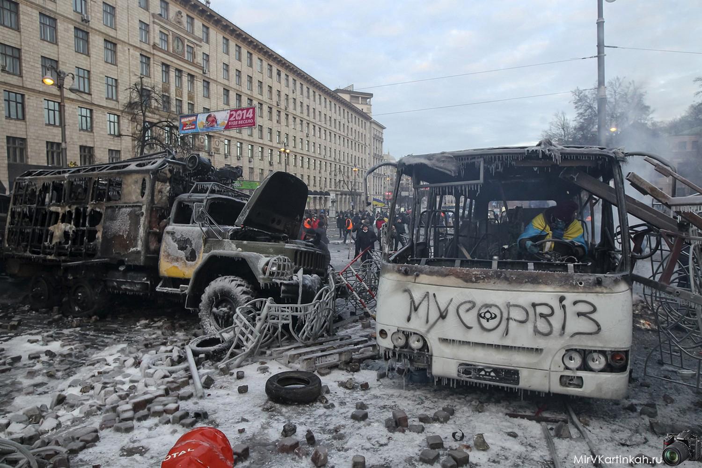 выгоревшие автобусы