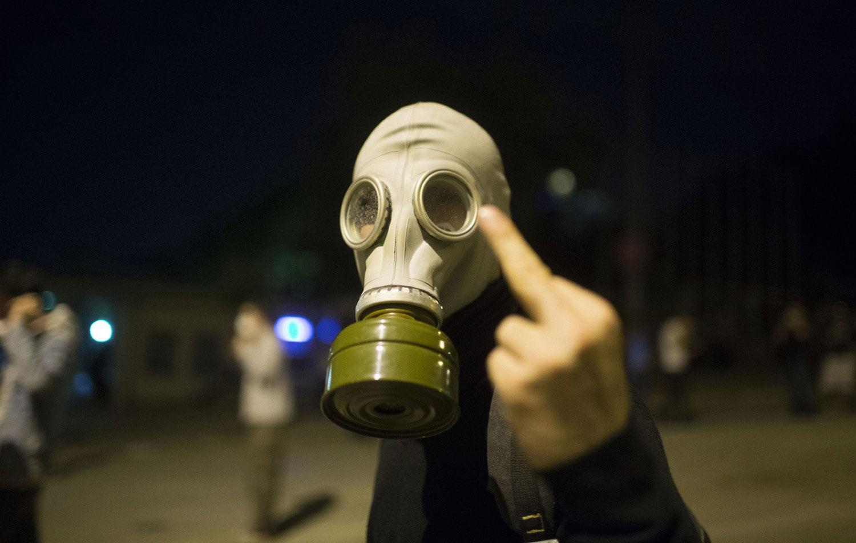Жест протестующего