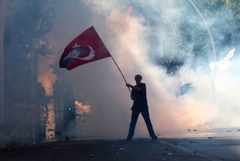 Анкара в дыму