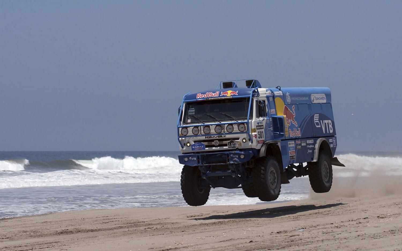 Россияне на 4-м этапе ралли, фото Дакар