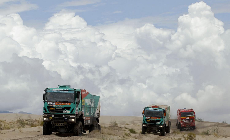 во время 11-го этапа ралли Дакар-2013, фото