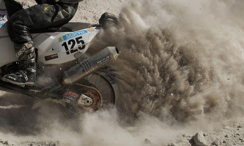 Австрийский гонщик Ferdinand Kreidl, фото Дакар