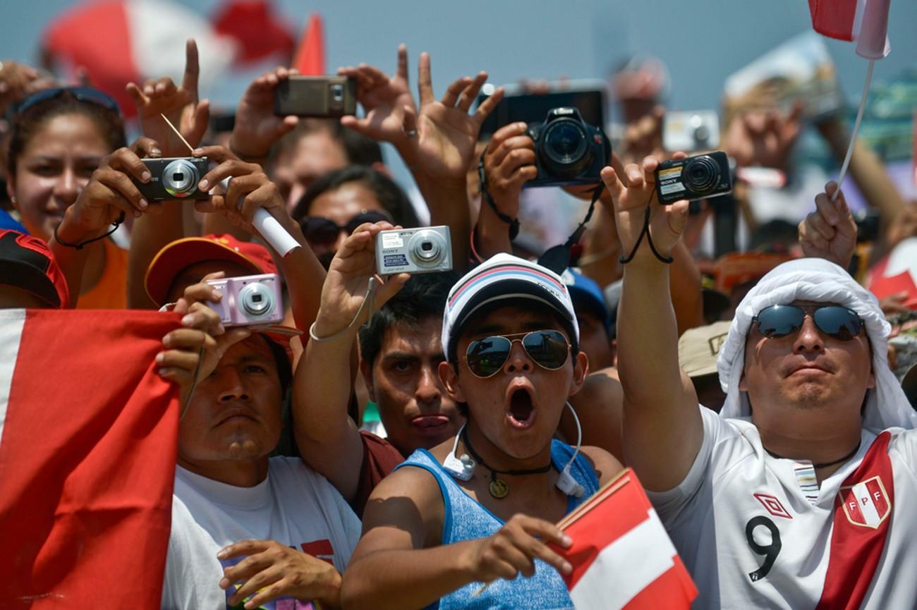 Перуанские болельщики, фото Дакар