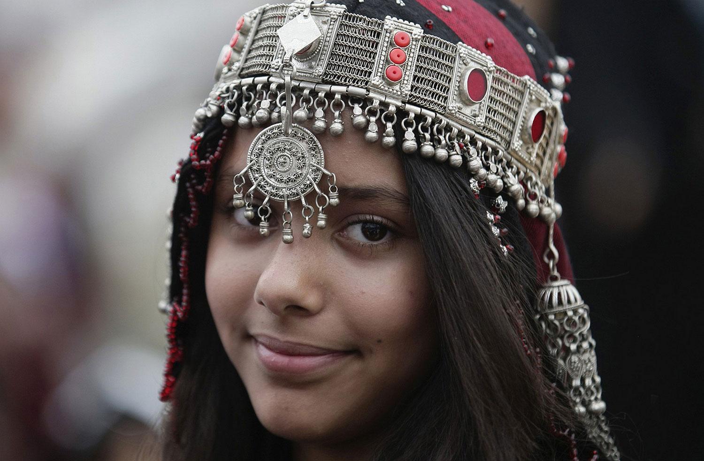Йеменская девушка