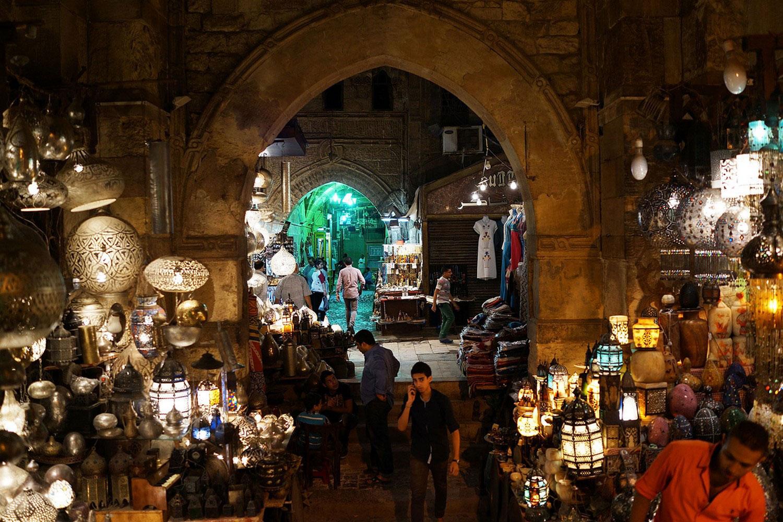Египтяне на рынке