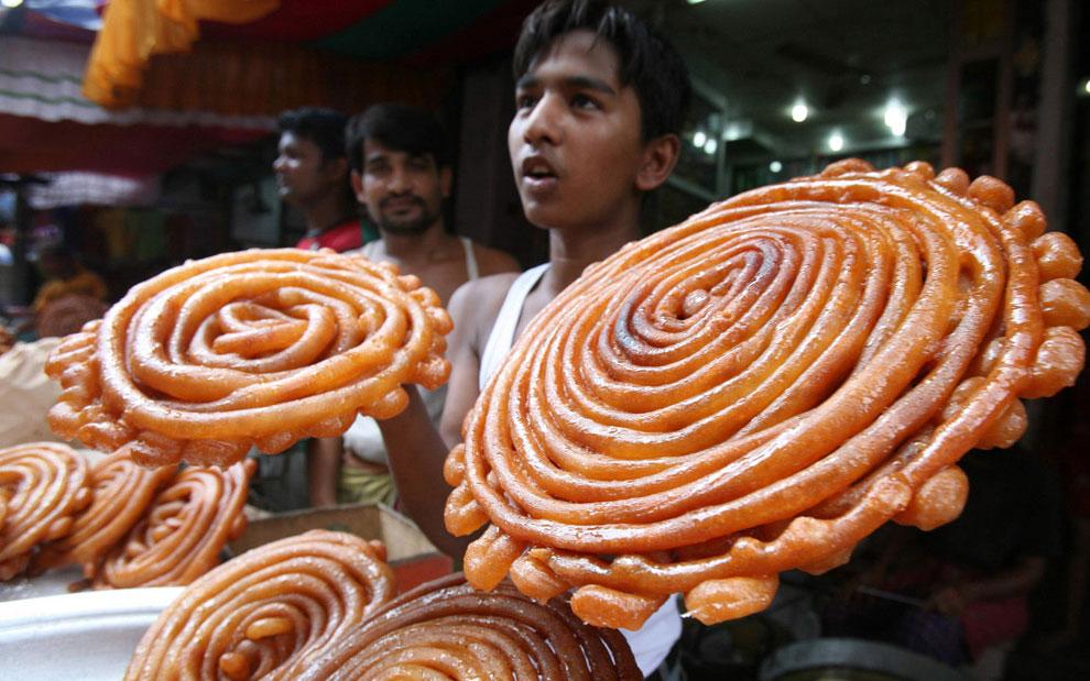продажи мяса в пост Рамадан, фото