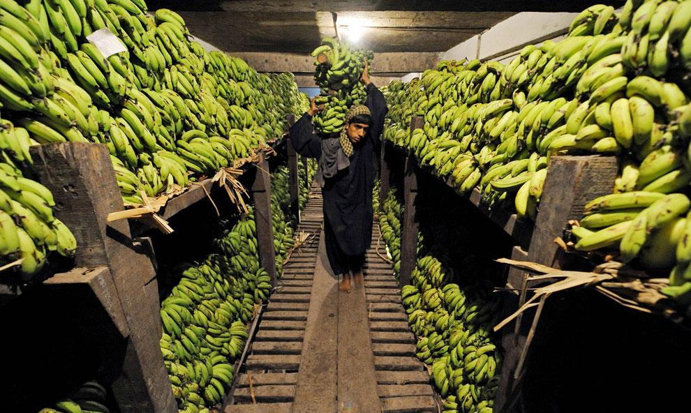 кладовая рынка во время Рамадана, фото