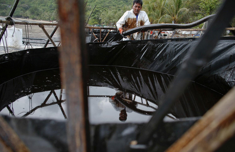 нефтяное загрязнение Таиланда