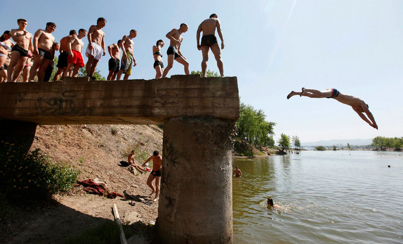 прыжки в воду, фото