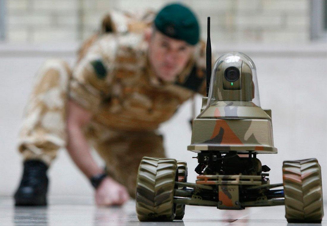 Беспилотный роботомобиль, фото