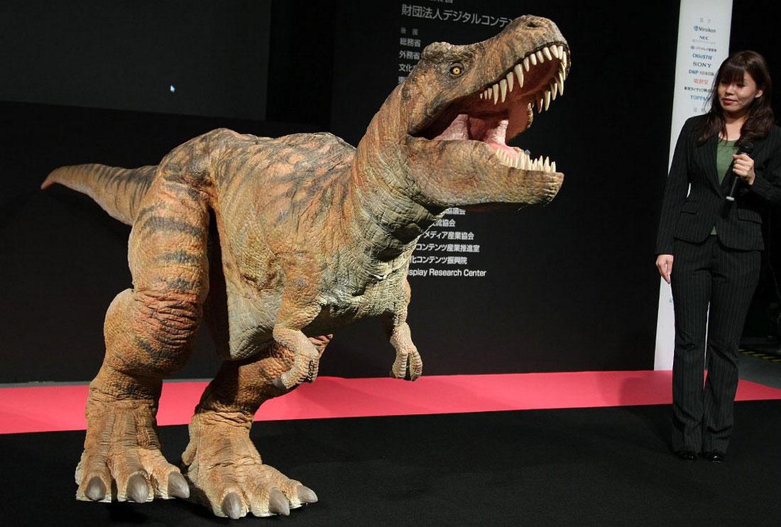 Робот Тиранозавр, фото