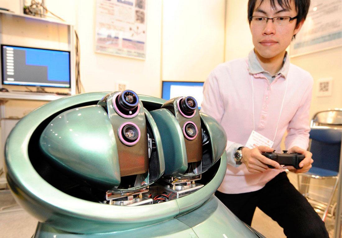 прототип робота безопасности, фото