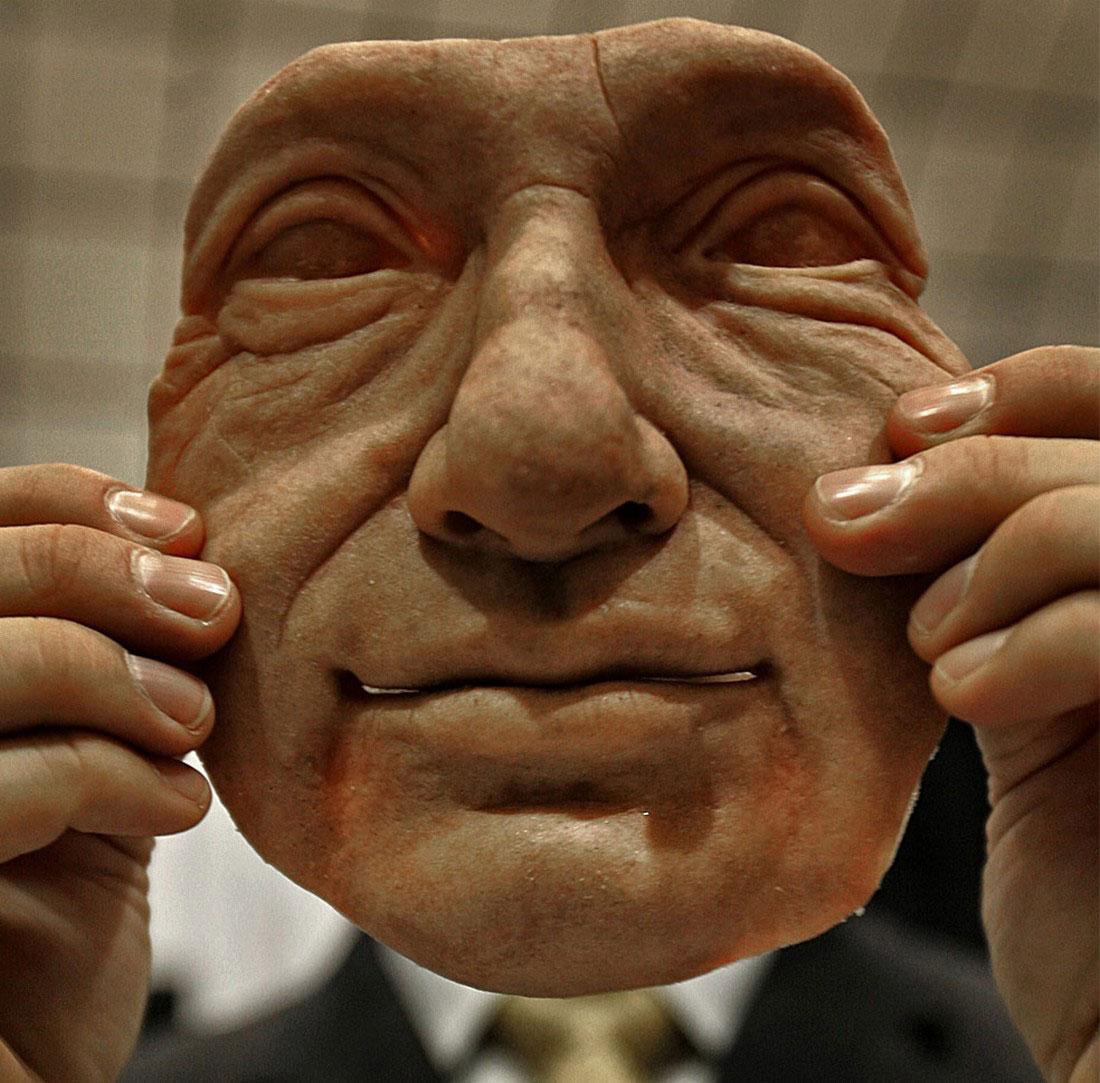 Синтетических лицо, фото