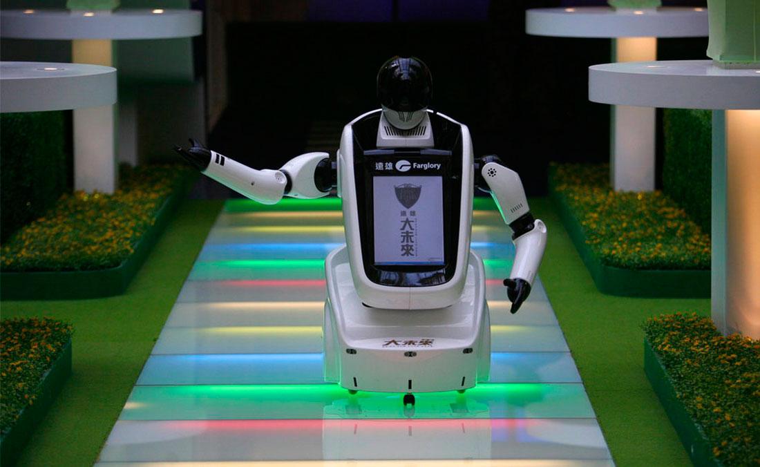 робот в Тайвани, фото