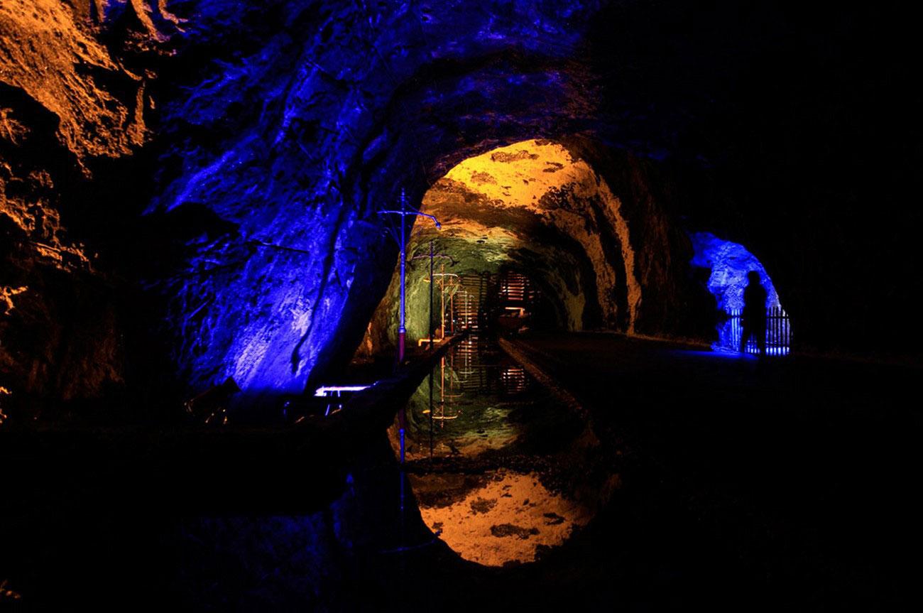 Соляная шахта Немокон